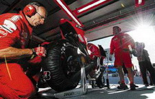 the red team. ducati motogp